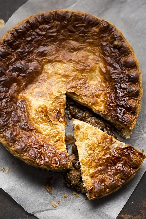 Steak and Guinness pie | Recipe